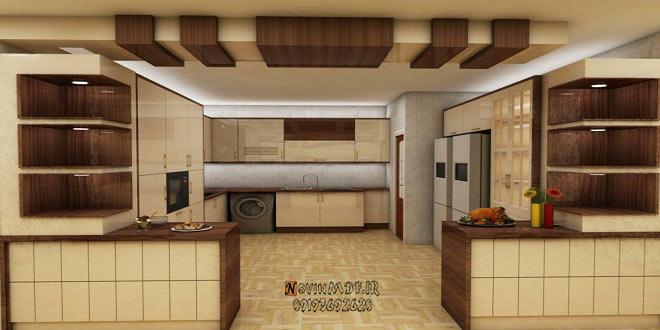 کابینت آشپزخانه با آرک