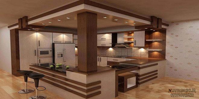کابینت ام دی افآشپزخانه