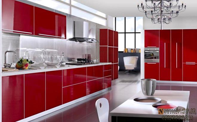 رنگهای فانتزی کابینت آشپزخانه