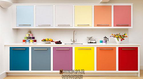 رنگهای خاص کابینت