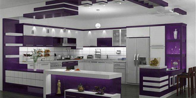 رنگ خاص کابینت آشپزخانه