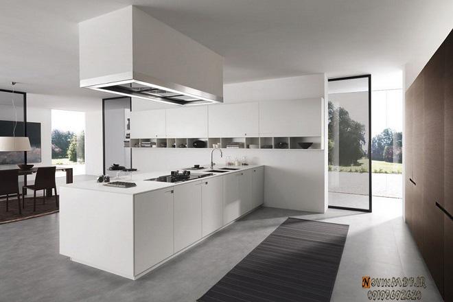 کابینت سفید برای آشپزخانه