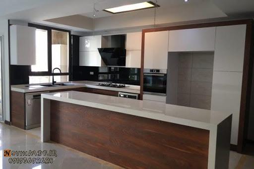 کابینت برجسته آشپزخانه